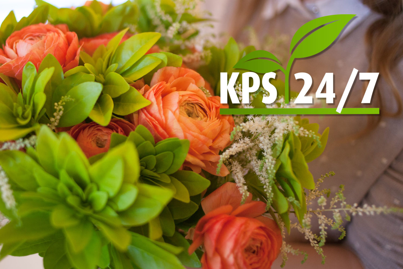 KPS 24/7 se ha adentrado también en el campo de las flores, aumentando así su oferta considerablemente, lo que supone que los clientes tienen a su disposición un paquete completo.